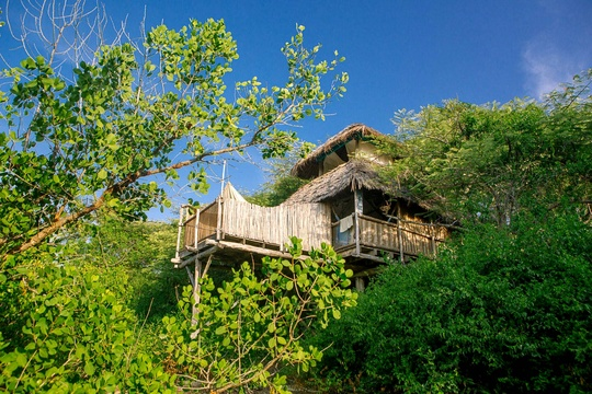Chole Mjini Island Getaway Voucher Offer Get 20% Off, 3 Night Stay. Located in Mafia Marine Park Tazania.
