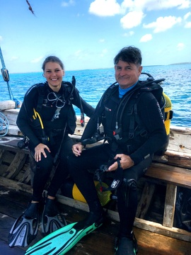 PADI scuba diving course at Mafia Island Tanzania